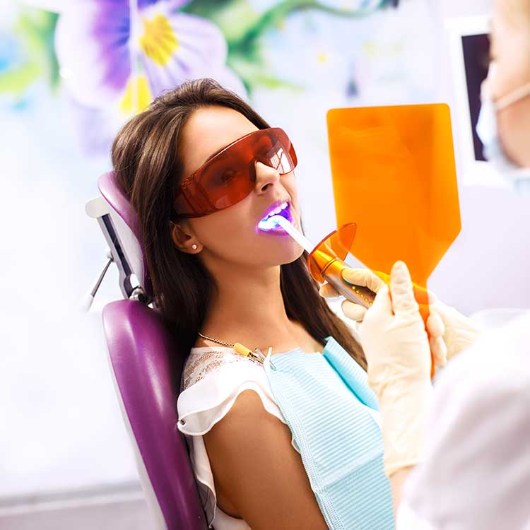 Laser Dentistry San Francisco Patient